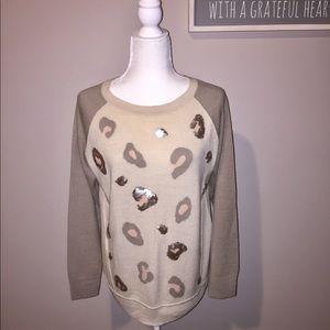 Apt. 9 Leopard Sweater